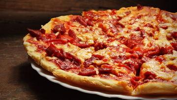 Frische Pizzas