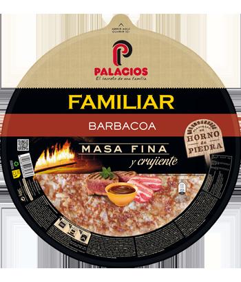 Pizza Familiar Barbecue