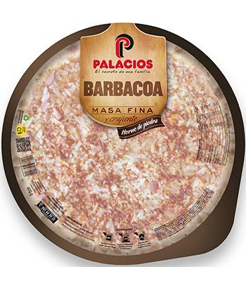 Pizza Extra dünn Barbecue