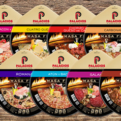 New dünner kruste pizzas