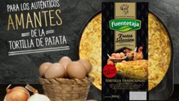 Frisches kartoffelomelett premiumqualität