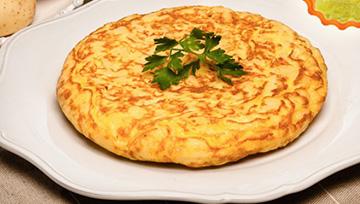 Fertigmischung für kartoffelomelett